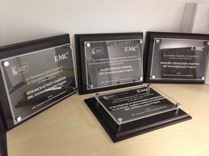 Призы от EMC2