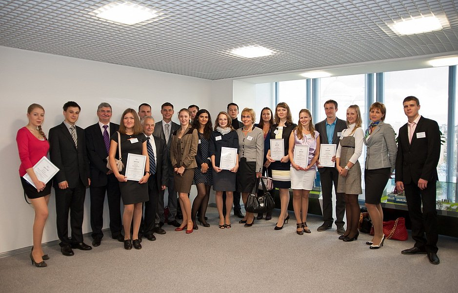 Награждение в конкурсе дипломных проектов ТГК-1