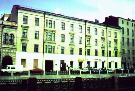 Учебный корпус СПбГУТ №2 на 4-м этаже которого размещалась кафедра ИБТС с 1997 года