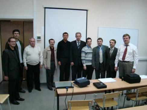 Состав кафедры в 2004 году