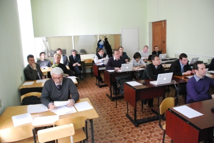 Заседание кафедры в 2013 году