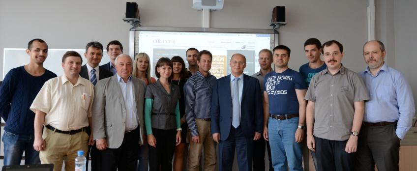 Участники программы ENGENSEC в Карлскруне и СПбГУТ