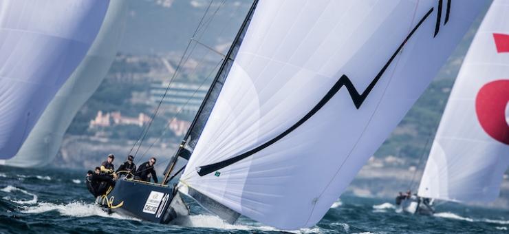 Победа экипажа яхты В.П. Просихина на чемпионате мира по формуле RC44 (Португалия)