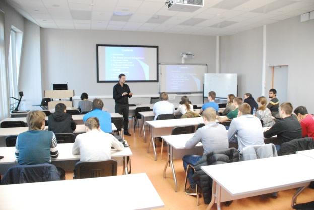 Обмен между преподавателями с BTH (Швеция)