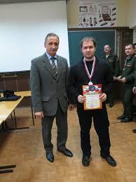 Штеренберг Станислав Игоревич занял 2-ое место по стрельбе из автомата